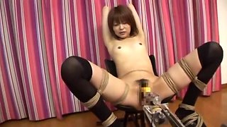 Incredible Japanese chick Miyu Sugiura in Fabulous Small Tits, Fucking Machines JAV clip