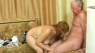 Young and mature Russian couples fuck