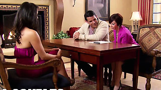Swinger BISEXUAL orgy at the RED ROOM