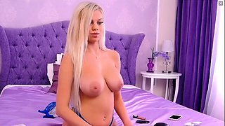 Amateur teen blonde Supple Perky boobs