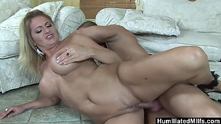 Mature goes wild over young stud's