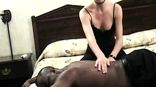 Sexy brunette milf takes a big black cock for a wild ride