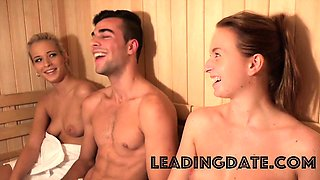 Nigerian and Czech fucking in a sauna for datingsitespot