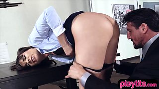She is hot she is my boss and I fucked her hard today