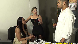 Holiday with my girlfriend and mother in law ended in orgy