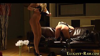 glam euro babes in 3way feature