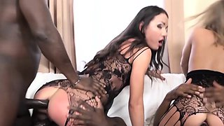 My Mom and Coworker Slut get face pussy fucked black