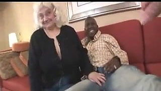 Granny lady cricket love BBC