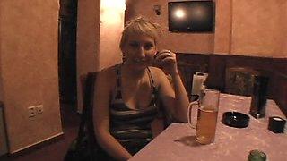 Busty Blonde Babe Gets Slutty When She's Drunk