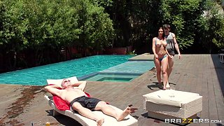 alex fucks his stepmom outdoors