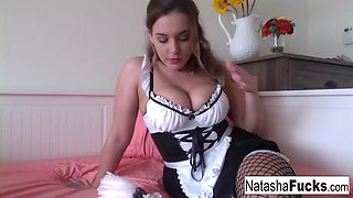 Natasha Nice in Maid Natasha Does A Special Halloween Anal Movie - NatashaNice