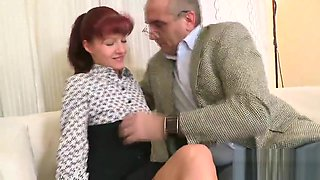 Lovely schoolgirl was tempted and penetrated by her older schoolteacher