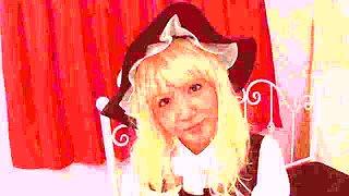 Fabulous Japanese whore Ayaka Tomoda in Hottest JAV censored Swallow, Blonde video