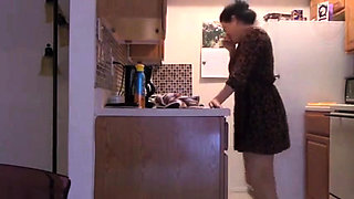 Mom has innocent fun with not her son