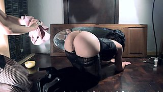 Hot amateur anal with pussy fisting during sexdate