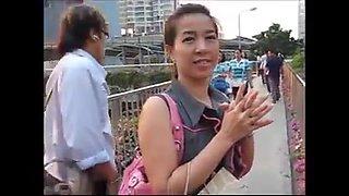 Pick up thai girl