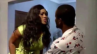 Nollywood actresses Mercy Macjoe and Zuby Michael fuck in gym