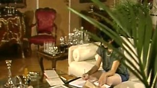 Full length French vintage porn vid with pretty pussies