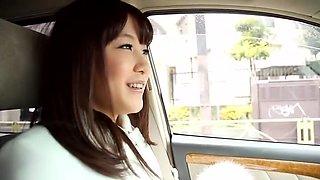 Crazy Japanese chick Kotomi Nagisa in Best Blowjob, Car JAV scene