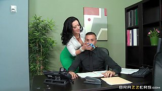 bitchy boss jayden jaymes seducing her co-worker keiran lee