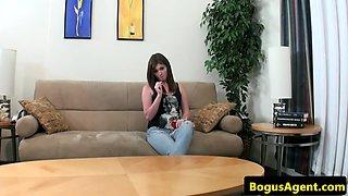 Dicksucking babe doggystyled by midget representative