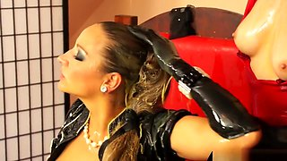 Eurobabes Dominate With Wet And Messy Eggs