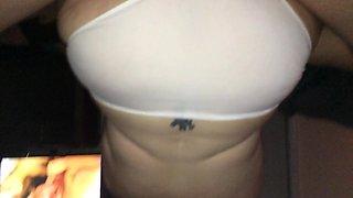 BBW Reverse Cowgirl in Panties :)