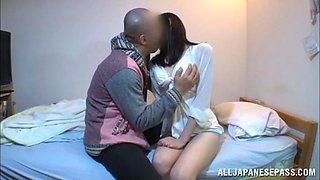 Mira Tamana Asian beauty enjoys hot position 69