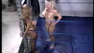 Cage ring naked wrestling
