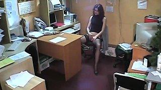 Hidden cam masturbation girl
