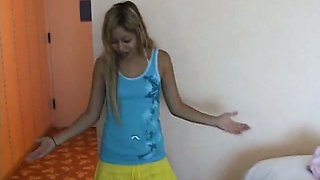 Asian Stepdaughter Swallowing Jizz