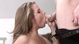 Horny pornstar Sofi Goldfinger in amazing anal, hd sex movie
