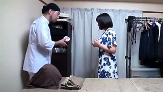 Subtitle Japanese hotel massage with blowjob in HD