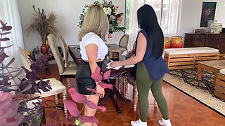 Boss Ties Up Her Maid Until She Makes Her Pay For Her Mistake - Anne Austin
