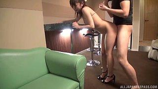 Ai Miyaji enjoys a kinky fuck with a couple of horny lovers