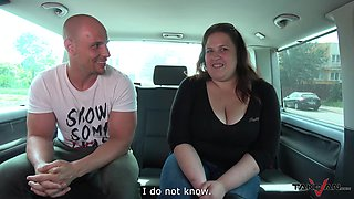 Tyna and other girls get talked into stripping in a car