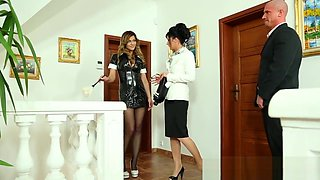 Fetish maid piss drenched