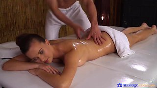 Stacy Cruz - Oiled Up Teen Babe Stacy Has Sensual Massage And Steamy Sex