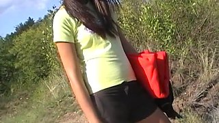 Victoria Sweet in outdoor video with an amateur hot slut shagging