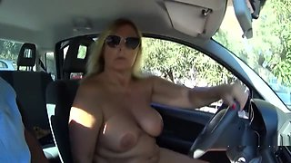 NudeChrissy - Nude cruise with my car