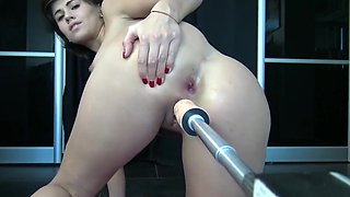 Teen Love Anal with Fuck Machine, ATM, Wet Ass and Squirt by Vic Alouqua Vic Alouqua 720p