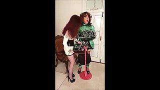 Madame C & Mistress Esme tease Angelica