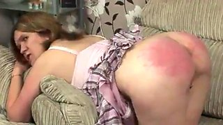 Strict spanking for british lady